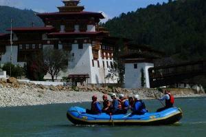 Rafting-in-Bhutan